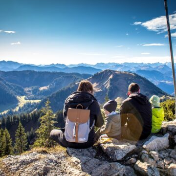 Panorama Alpine Good View Hochwald Firs Mountains