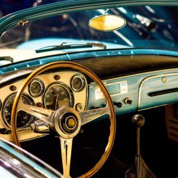 Car Vehicle Motor Transport Dashboard Maserati